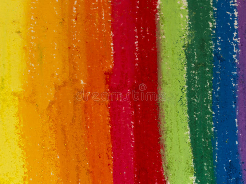 Fondo de papel pintado creyones foto de archivo libre de regalías