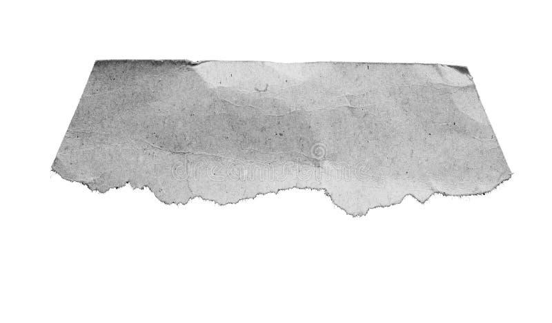 Fondo de papel rasgado rasgón de la textura stock de ilustración