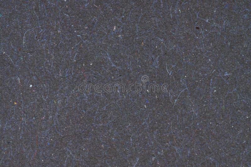 Fondo de papel reciclado negro para el diseño fotografía de archivo libre de regalías