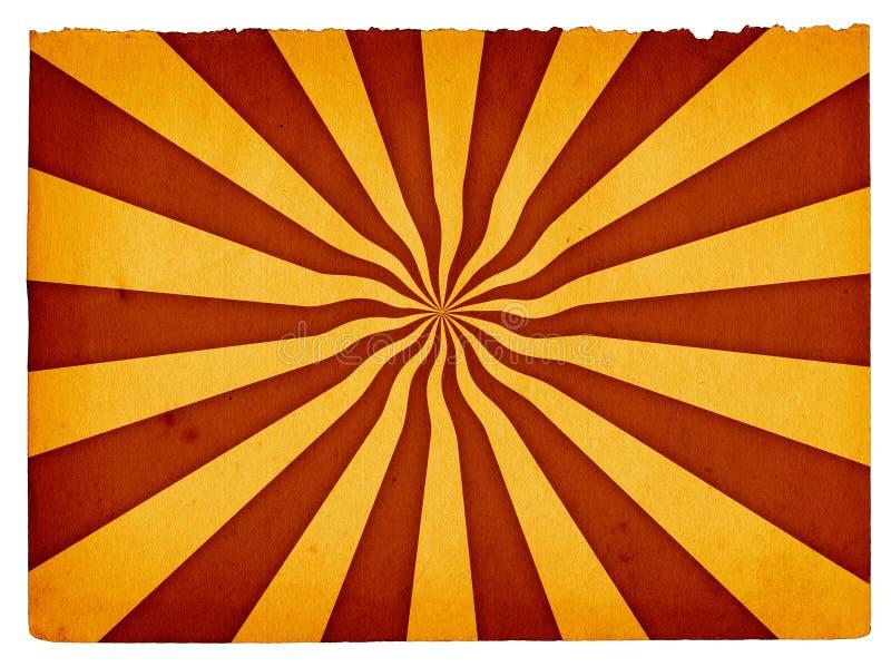 Fondo de papel retro #3 ilustración del vector
