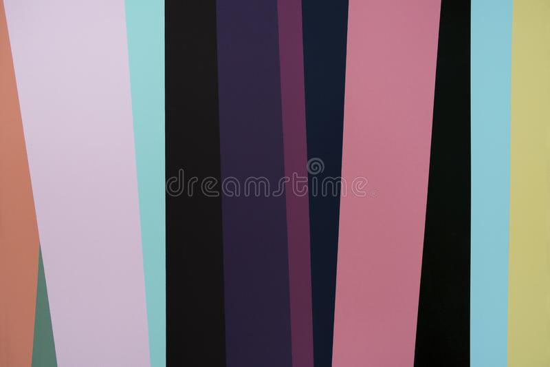Fondo de paredes coloridas Conveniente para los papeles pintados y las imágenes de fondo foto de archivo