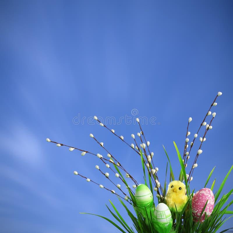 Fondo de Pascua foto de archivo libre de regalías