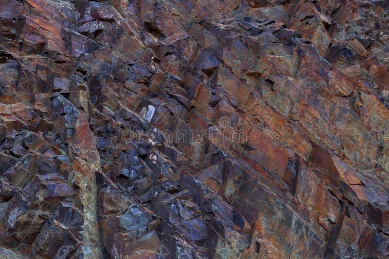 Fondo de piedra colorido de la textura fotografía de archivo