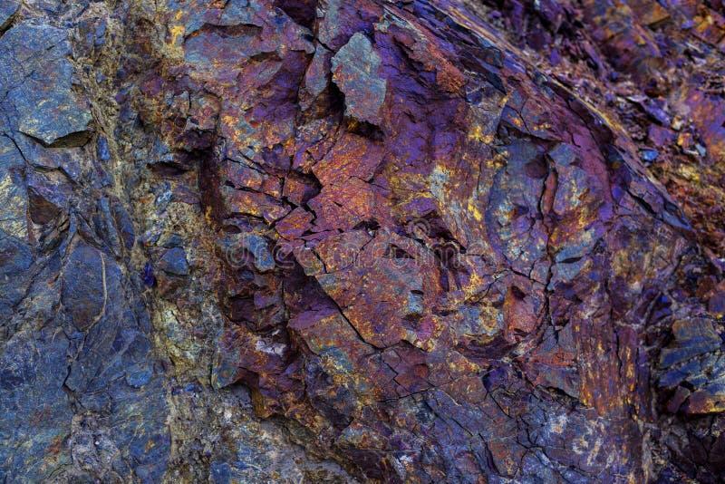 Fondo de piedra colorido de la textura foto de archivo libre de regalías