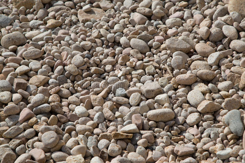 Fondo de piedra del guijarro imagenes de archivo