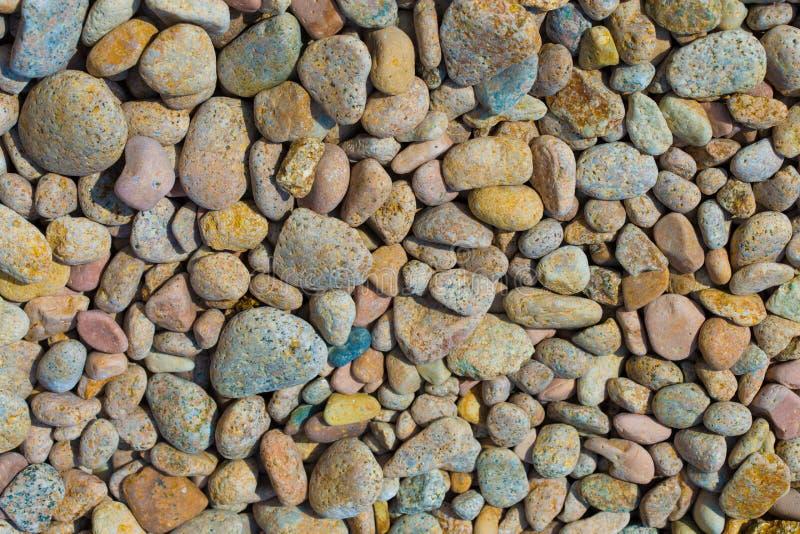 Fondo de piedra del guijarro imagen de archivo libre de regalías