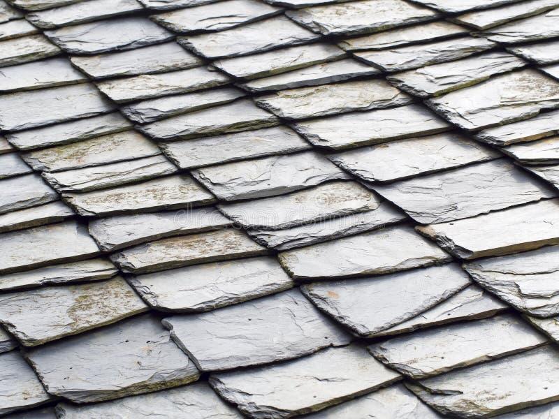 Fondo de piedra del tejado foto de archivo libre de regalías