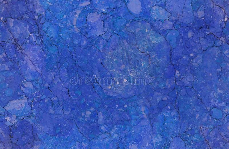 Fondo de piedra de mármol inconsútil natural azul del modelo de la textura Superficie de mármol inconsútil de piedra natural áspe fotos de archivo libres de regalías