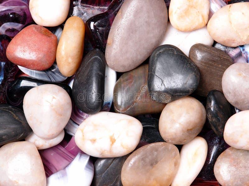 Fondo de piedra mineral fotografía de archivo