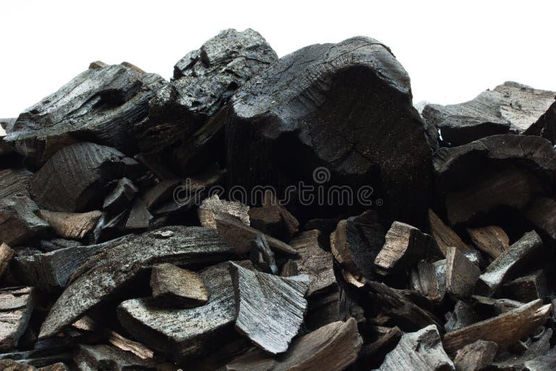 Fondo de piedra mineral del carbón foto de archivo libre de regalías