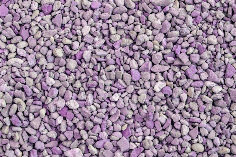 Fondo de piedra, púrpura machacado del extracto de la textura del tono imágenes de archivo libres de regalías