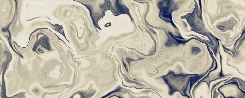 Fondo de pintura del material de la onda líquida fotografía de archivo libre de regalías