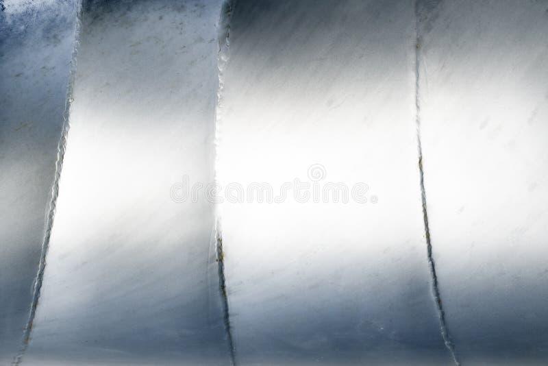 Fondo de plata abstracto de aluminio del metal imagenes de archivo