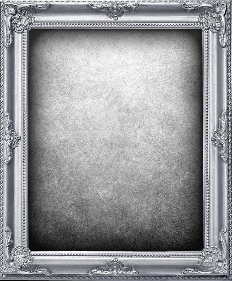 Fondo de plata del marco libre illustration