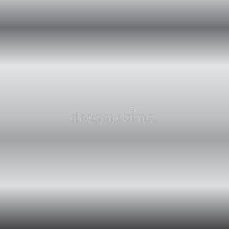 Fondo de plata de la pendiente Textura de plata del diseño para la cinta, marco, bandera Plantilla de plata abstracta de la pendi stock de ilustración