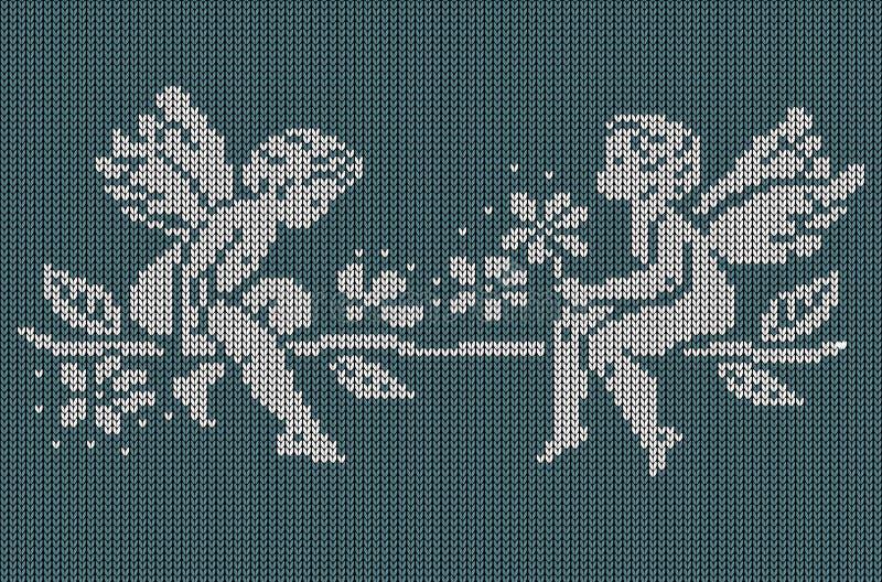 Fondo de punto inconsútil - ángeles libre illustration