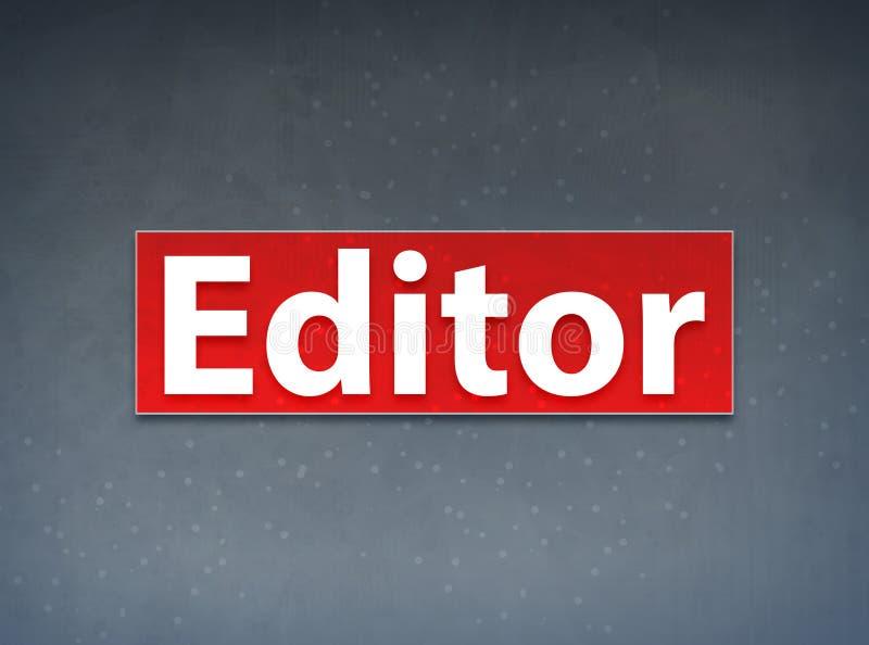 Fondo de Red Banner Abstract del redactor stock de ilustración