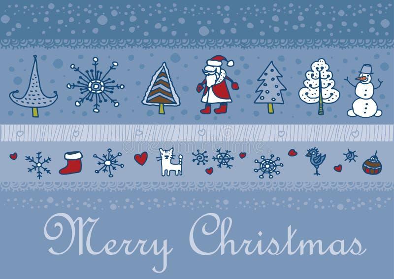 Fondo de santa de la Navidad libre illustration