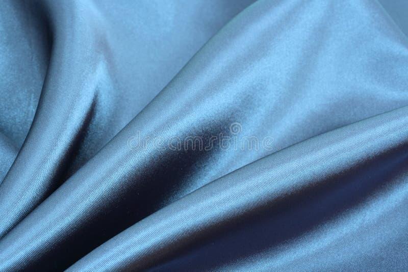 Fondo de seda azul fotos de archivo libres de regalías