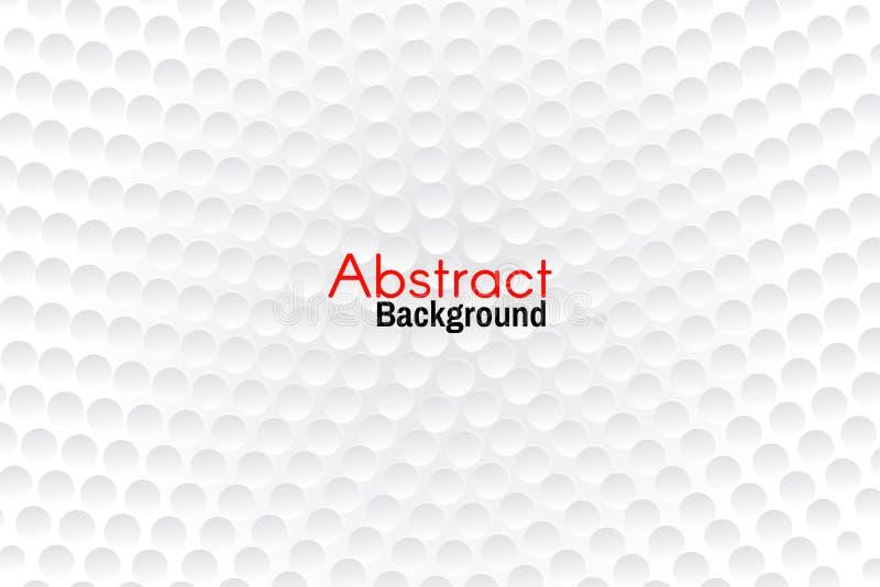 Fondo de semitono abstracto ligero Fondo para el cartel o la bandera Fondo del círculo para su diseño ilustración del vector