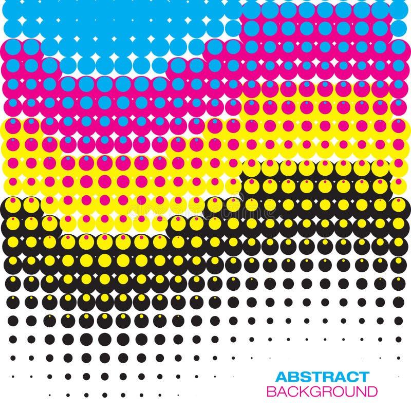 Fondo de semitono colorido abstracto libre illustration