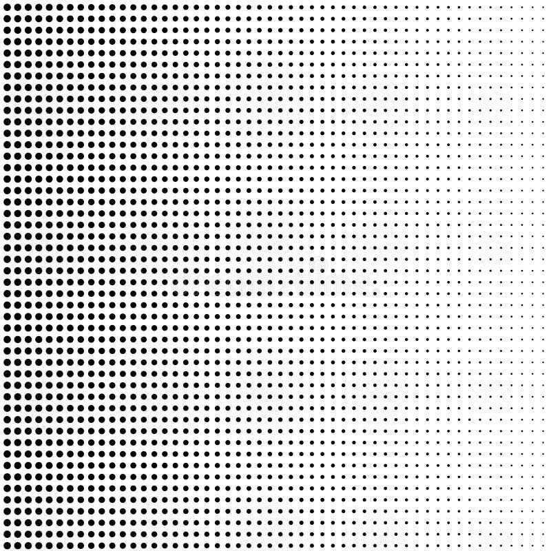 Fondo de semitono con los puntos de desaparición libre illustration