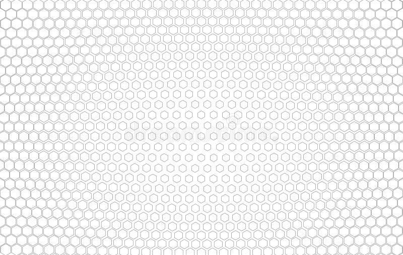 Fondo de semitono del polígono de la pendiente como plantilla del arte pop con el te stock de ilustración