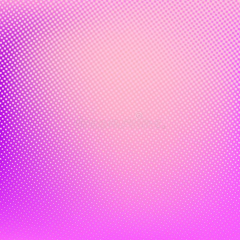Fondo de semitono Modelo manchado extracto rosado stock de ilustración