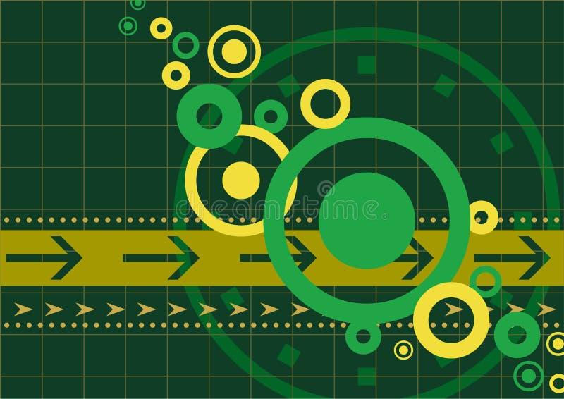 Fondo de Techno stock de ilustración