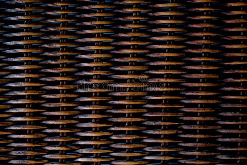 Fondo de textura Bastón de madera entrelazado Porciones de espacio fotos de archivo