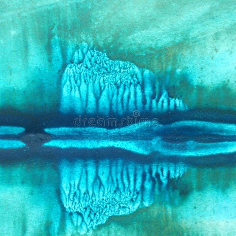Fondo de textura colorido brillante abstracto de la acuarela hecho a mano E moderno imágenes de archivo libres de regalías