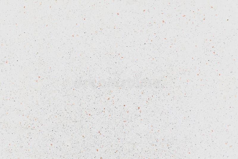 Fondo de textura de mármol blanco, Superficie de granito, suelo de piedra pulido Terrazzo y motivos de pared fotos de archivo