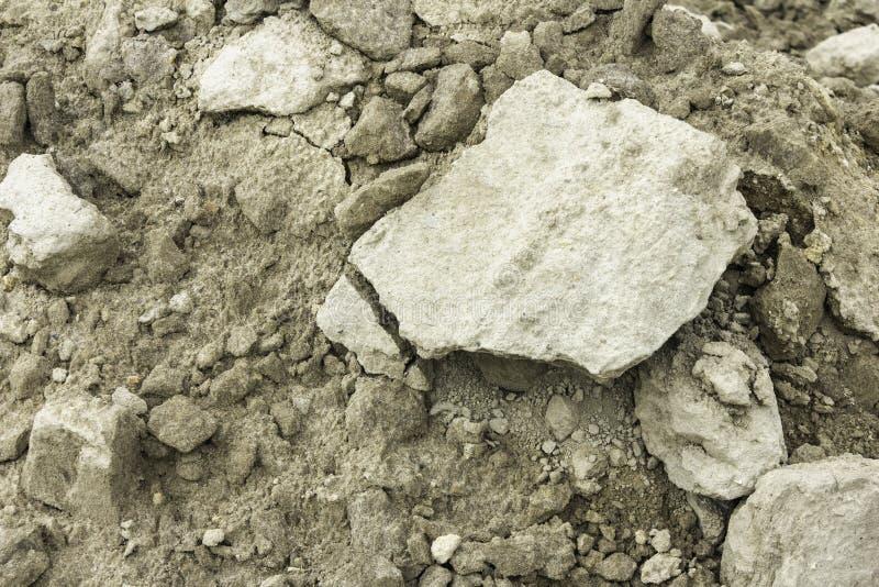 Fondo de tierra arenoso seco imagenes de archivo
