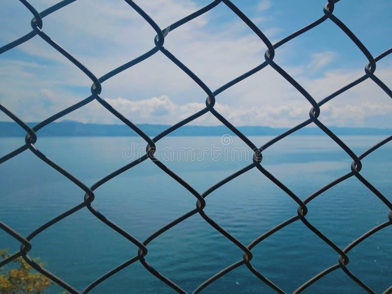 Fondo de Toba del lago imagenes de archivo