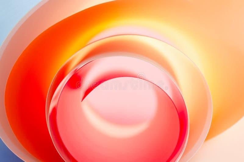 Fondo de un cierre espiral multicolor para arriba fotografía de archivo libre de regalías