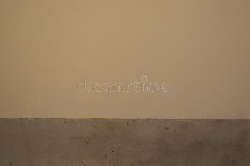 Fondo de una pared con dos colores fotografía de archivo libre de regalías