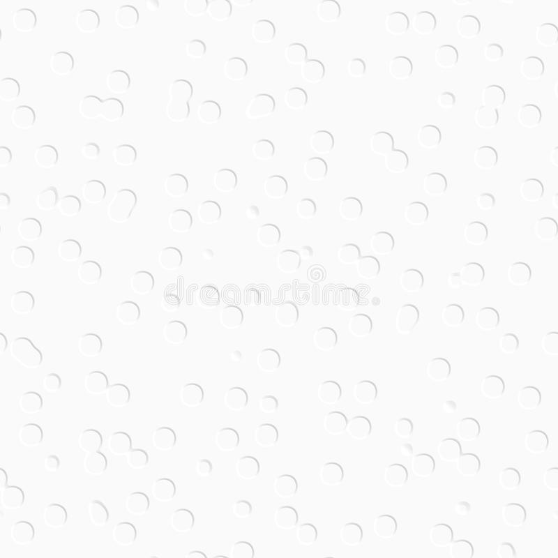 Fondo decorativo blanco Modelo inconsútil libre illustration