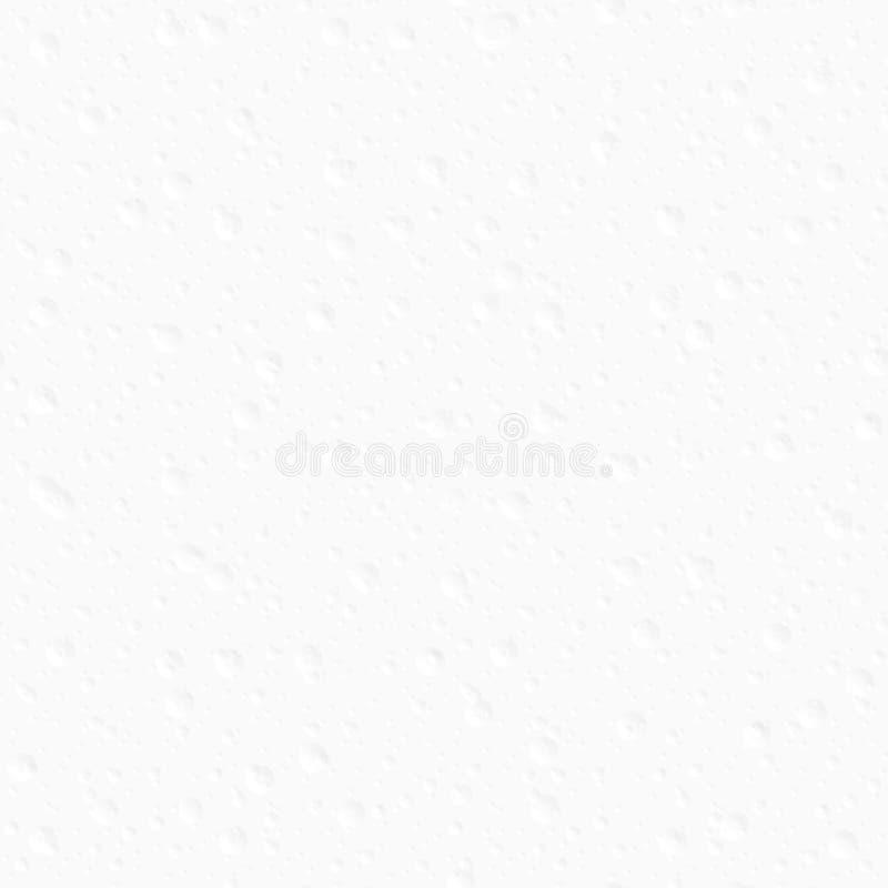 Fondo decorativo blanco Modelo inconsútil stock de ilustración