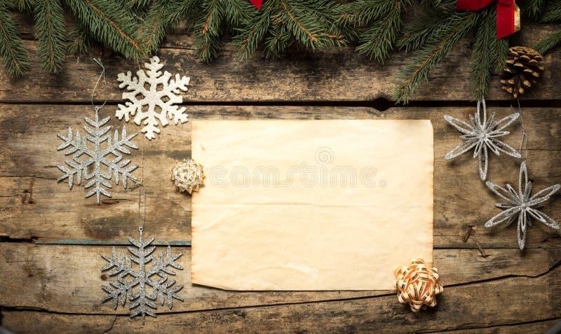 Fondo decorativo de la Navidad imágenes de archivo libres de regalías