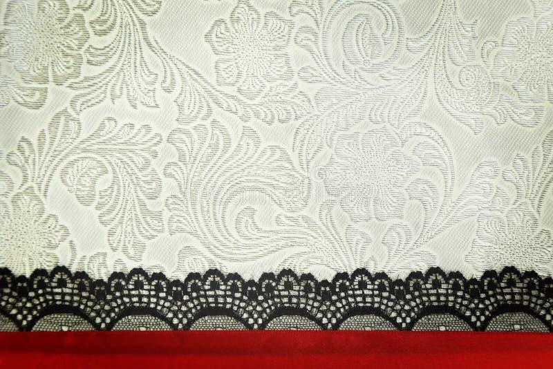 Fondo decorativo de la tela imagen de archivo