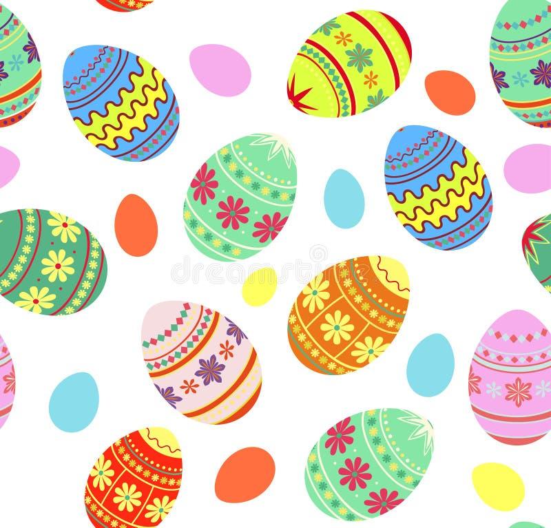 Fondo decorativo de Pascua libre illustration