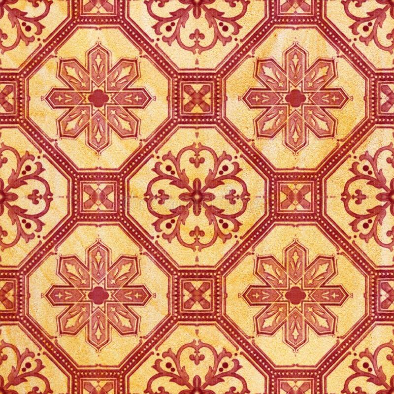 Fondo decorativo delle mattonelle dell'arenaria fotografie stock libere da diritti