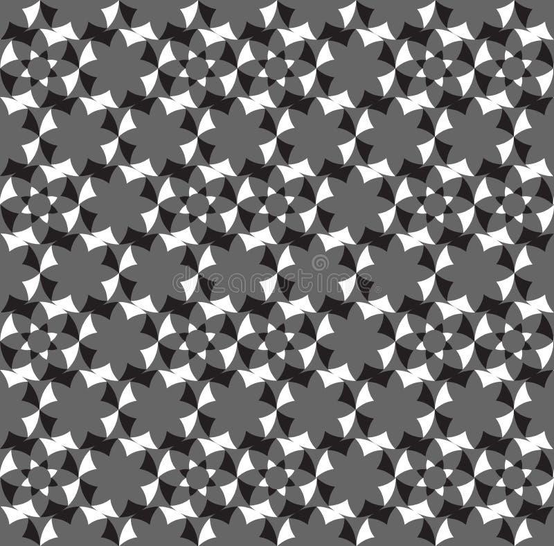 Fondo decorativo geométrico abstracto inconsútil ilustración del vector