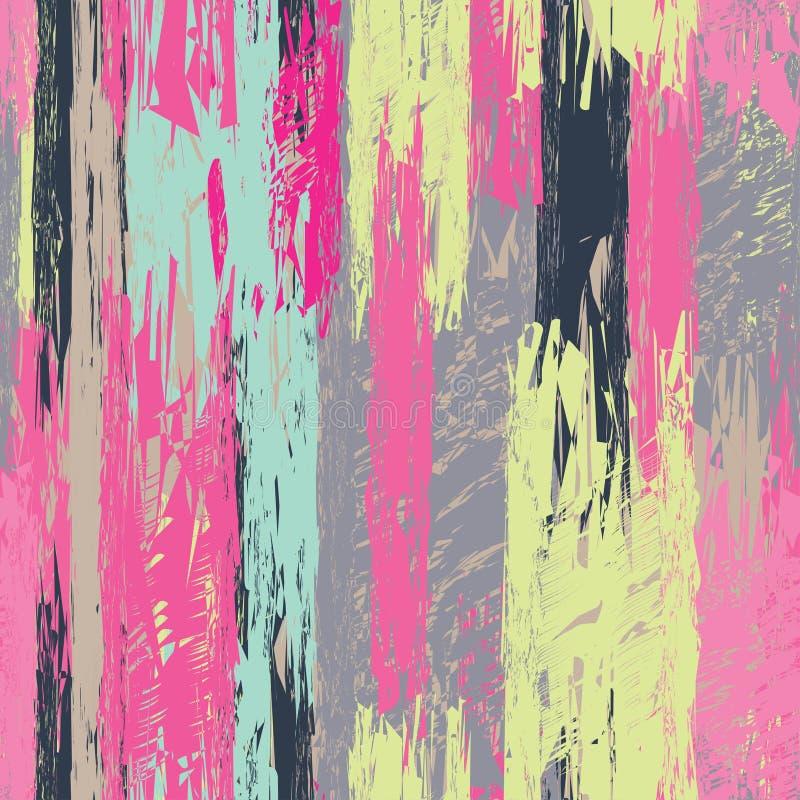 Fondo decorativo inconsútil con el modelo abstracto impresión Diseño del paño, papel pintado ilustración del vector