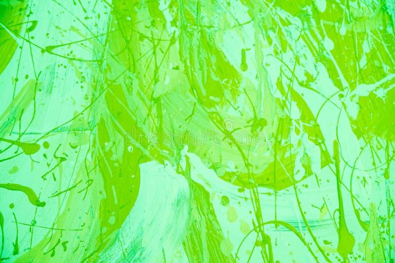 Fondo decorativo pintado extracto Verde del UFO del color de fondo  Pared verde concreta del fondo Textura de la pintura vieja fotos de archivo libres de regalías