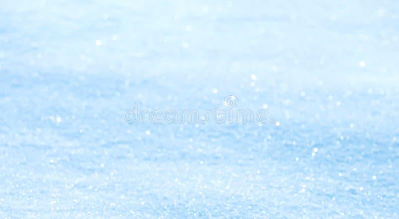 Fondo defocused azul claro de la pendiente del extracto panorámico fotos de archivo libres de regalías