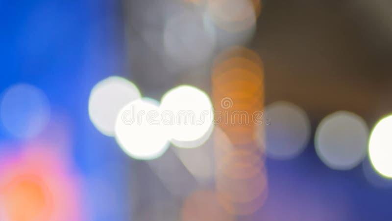 Fondo Defocused de la iluminaci?n del concierto foto de archivo libre de regalías