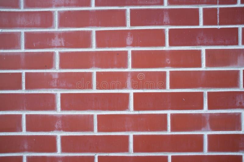 Fondo degli appaltatori delle mattonelle del mattone rosso immagini stock