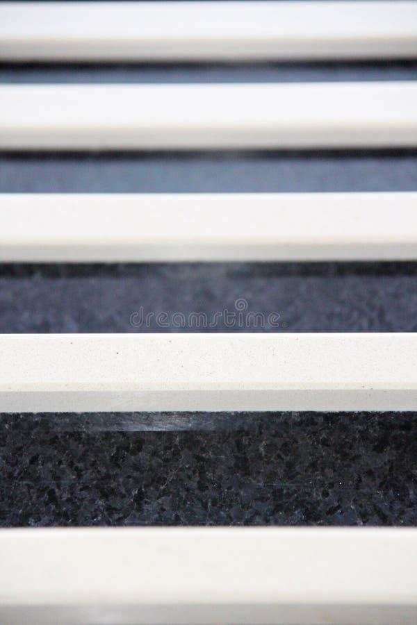 Fondo dei bordi delle scale del granito immagini stock libere da diritti