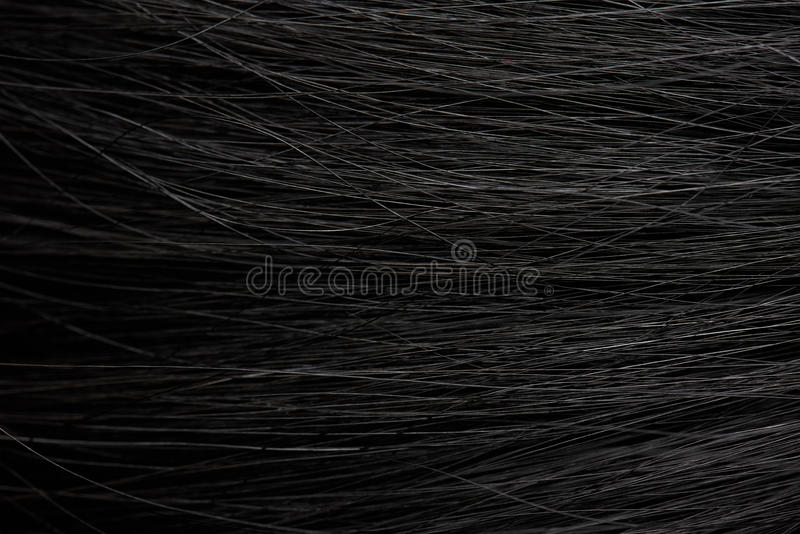 Fondo dei capelli scuri fotografia stock libera da diritti